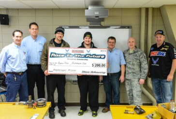 "Scheuring Speed Sports Renews Air Force Partnership, Continues ""Race to the Future"" Scholarships"